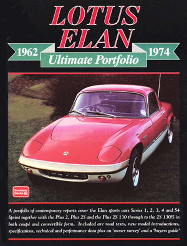 Lotus Elan Ultimate Portfolio 1962-1974