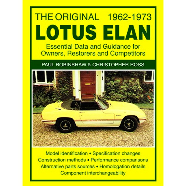 The Original Lotus Elan - 1962-1973