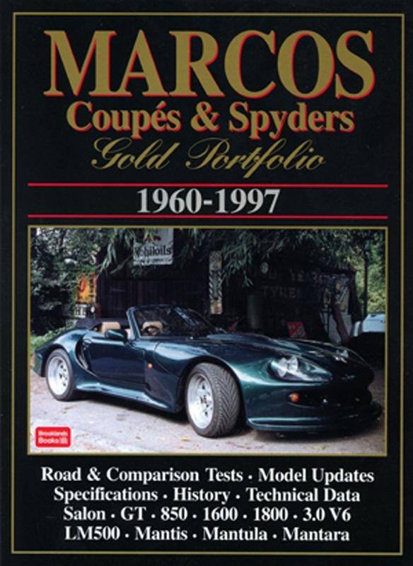 Marcos Coupes & Spyders Gold Portfolio 1960-1997