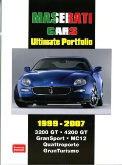 Maserati Cars Ultimate Portfolio 1999-2007