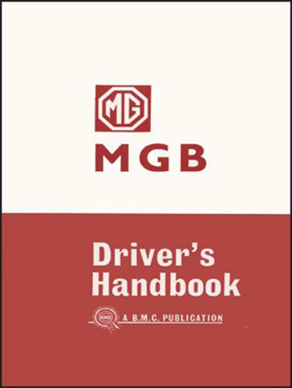 MG MGB Tourer Drivers Handbook