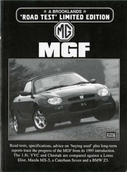 MG MGF - A Brooklands 'Road Test' Limited Edition