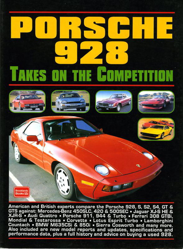 Porsche 928 Takes on the Competition