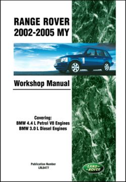 Range Rover Workshop Manual 2002-2005 MY