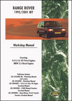 Range Rover Workshop Manual 1995-2001