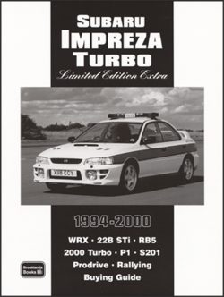 Subaru Impreza Turbo Limited Edition Extra 1994-2000