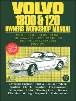 Volvo 1800 & 120 Owners Workshop Manual