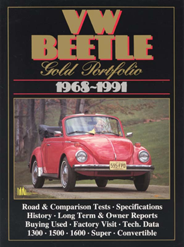 VW Beetle Gold Portfolio 1968-1991