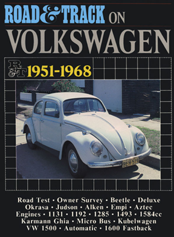 Road & Track On Volkswagen 1951-1968