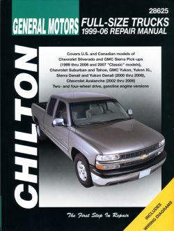 General Motors Full Size Trucks (99 -06) Revue technique Chilton