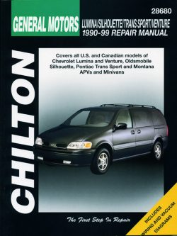 General Motors Lumina APV/Silhouette/Trans Sport/Venture (90 - 99) Revue technique Chilton