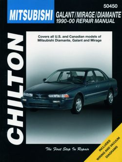 Mitsubishi Galant/Mirage/Diamante (90 - 00) Revue technique Chilton