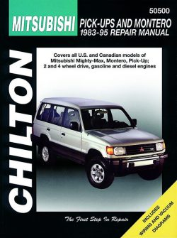 Mitsubishi Pick-Ups and Montero (83 - 95) Revue technique Chilton