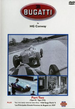 Bugatti par HG Conway Part two (type 52 to Type 57G)