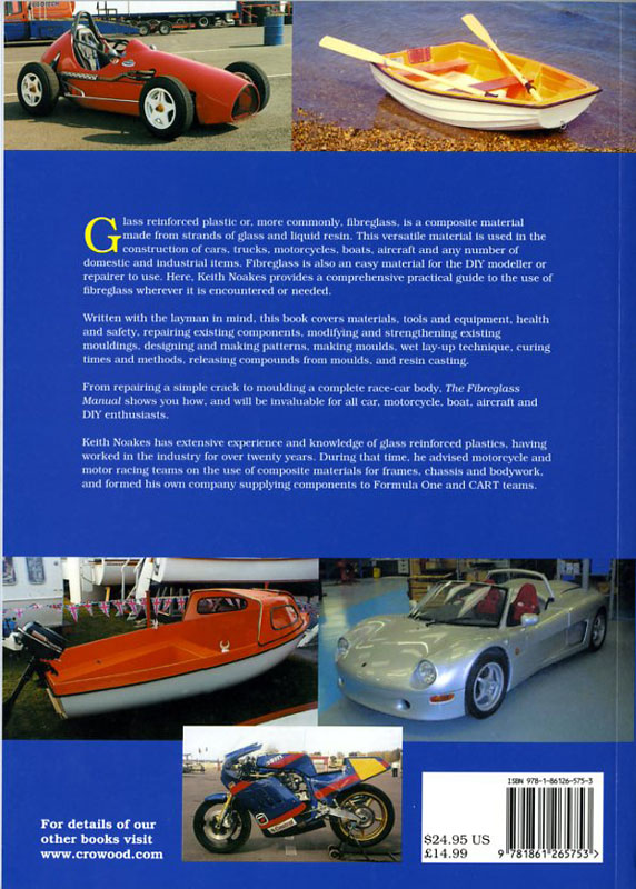 The fibreglass manual A practical guide to the use of reinforced plastics