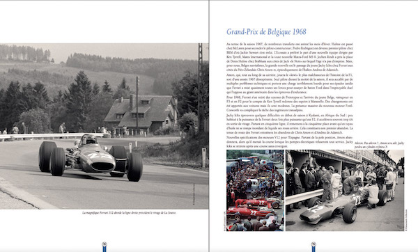 Francorchamps, Formule Ickx