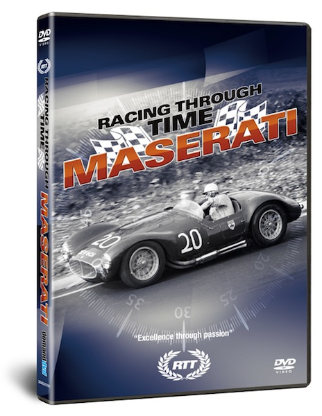DVD Racing Through Time - Maserati