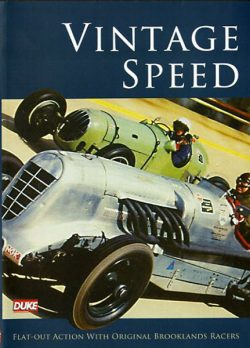 DVD - Vintage Speed Flat-out Action with original Brooklands racers