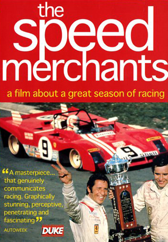 DVD - The speed merchants - a film about a great season of racing