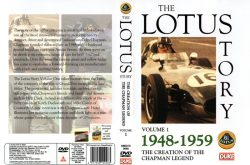 Coffret 4 DVD - The Lotus Story