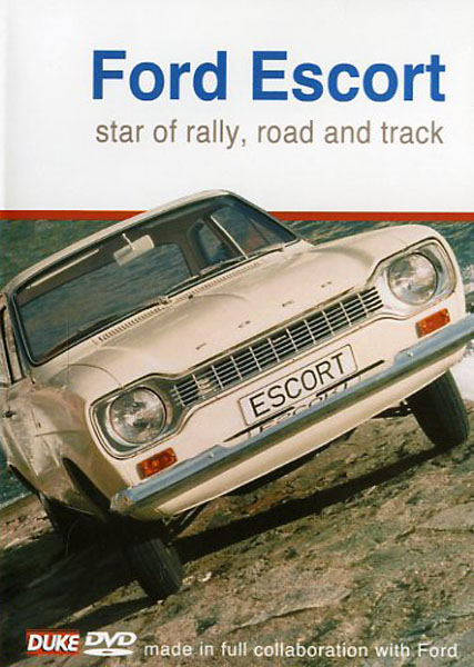 DVD - Ford Escort Star of rally, road and track