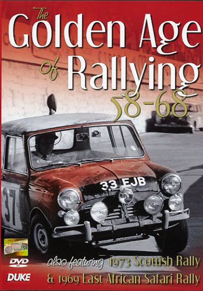 DVD - The Golden Age of Rallying 58-68