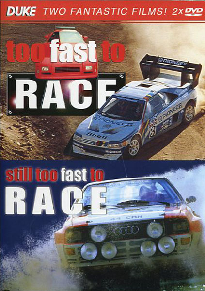 DVD Too fast to race + Still too fast to race