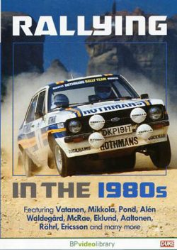 DVD Rallying in the 1980s