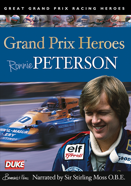 Grand Prix Heroes - Ronnie Peterson DVD