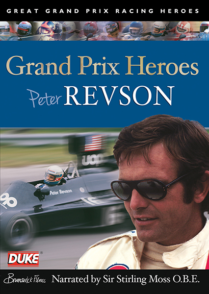 Grand Prix Heroes - Peter Revson DVD