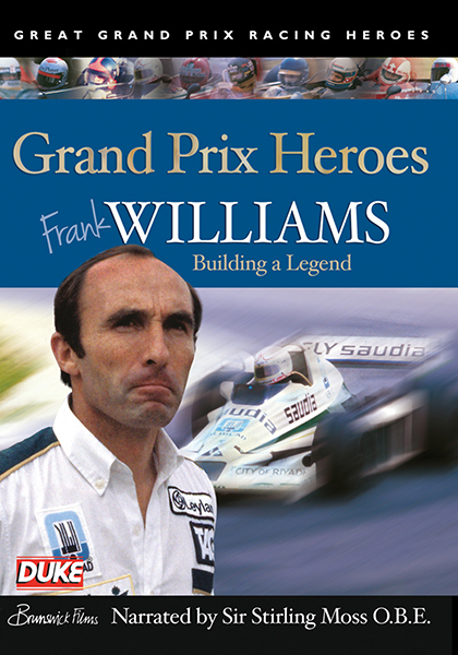 Grand Prix Heroes - Frank Williams DVD