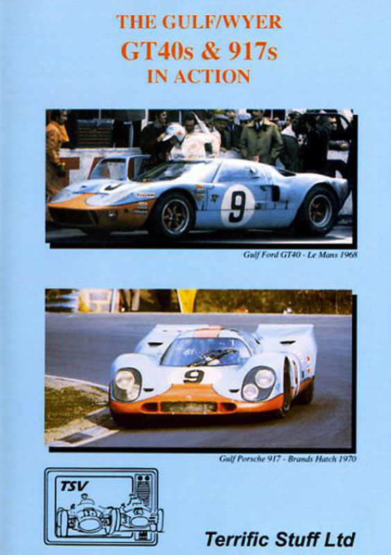 DVD - The Gulf/Wyer GT40s & 917 in action