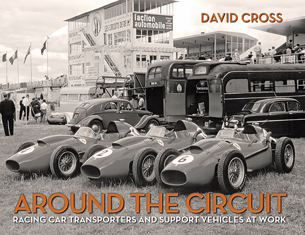 Around the Circuit - Racing car transporters and support vehicles at work