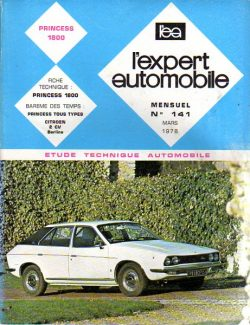 L'Expert Automobile - Princess 1800