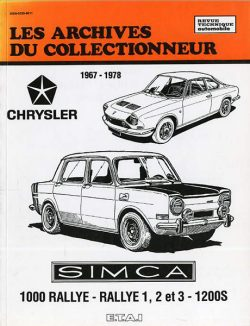 Lea Archives du Collectionneur SIMCA
