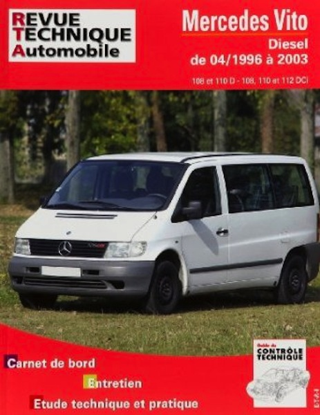Revue Technique Automobile Mercèdes Vito