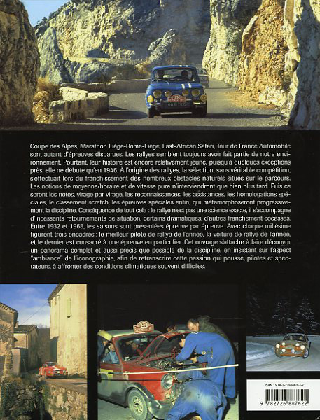 Histoire des Rallyes - Tome 1