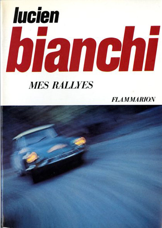 Lucien Bianchi mes rallyes
