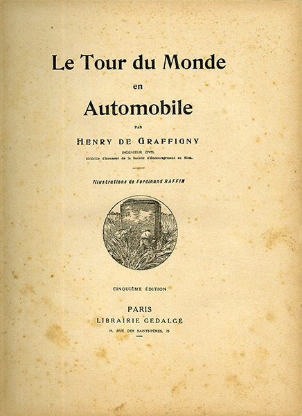 Le tour du monde en automobile