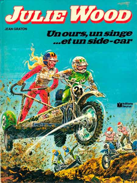 Julie Wood - Un ours, un singe... et un side-car