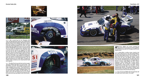 Porsche Turbo USA - The racing cars, the picture history