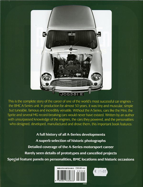 The A-Series engine. Its first sixty years