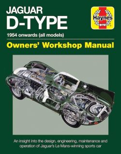 Jaguar D-Type Owners' Workshop Manual