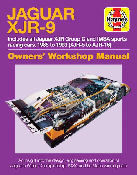 Jaguar XJR-9 Owners' Workshop Manual