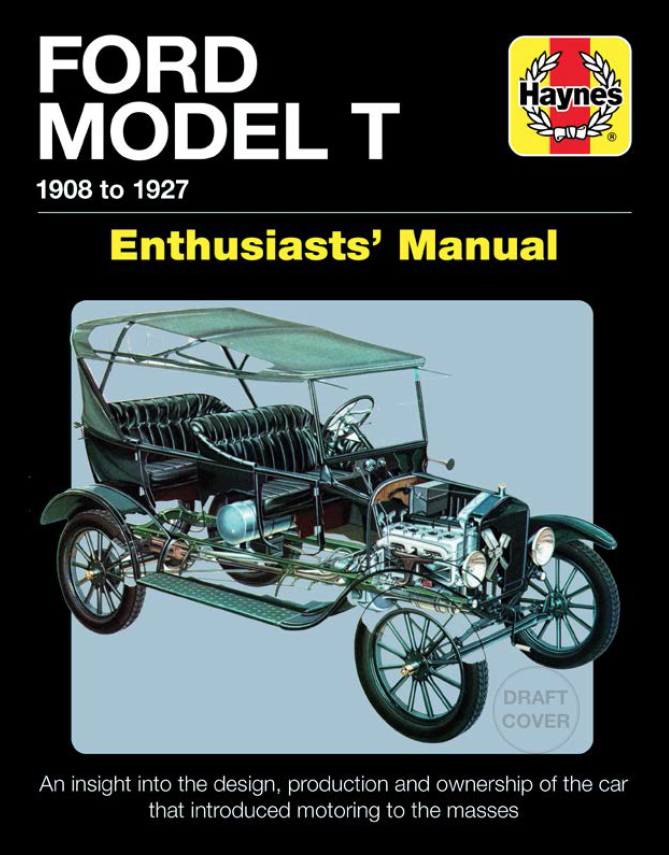 Ford Model T - Enthusiasts's Manual