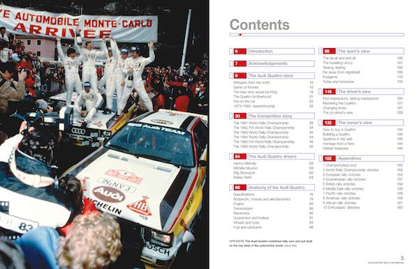 Audi Guattro Rally Car - Enthusiasts' Manual