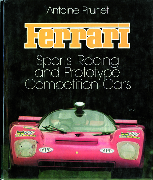 Ferrari Sports Racing and prototype Competition cars