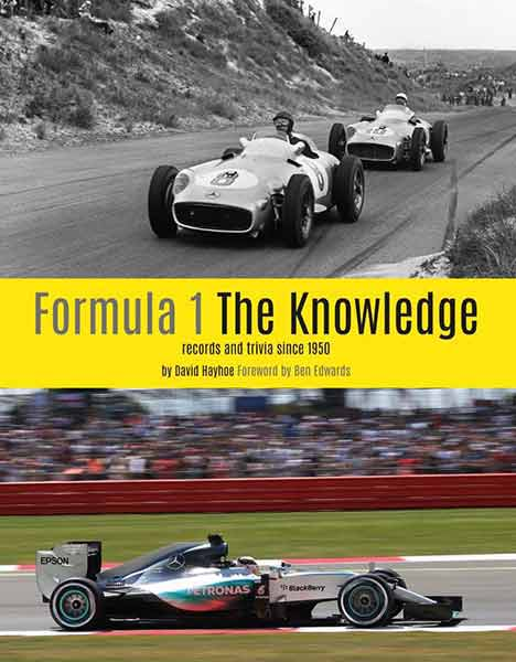 Formula 1 The knowledge. Records and trivia since 1950