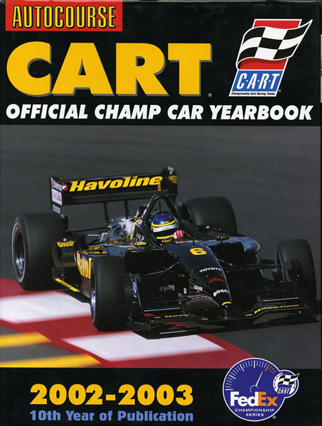 2002-2003 Cart official champ car yearbook
