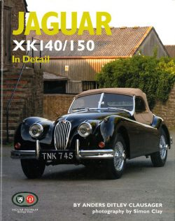 Jaguar XK 140/150 in detail